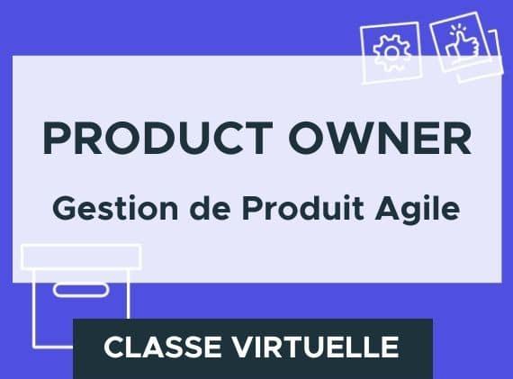 Formation en ligne product owner et gestion de produit agile