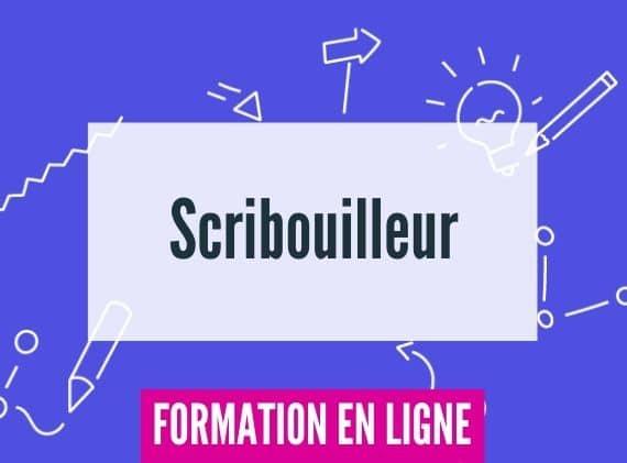 Formation en ligne facilitation graphique scribouilleur