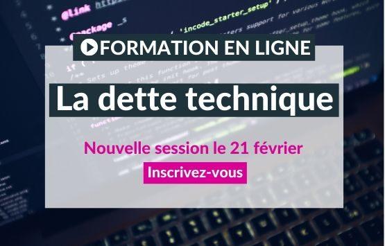 Formation clean code dette technique