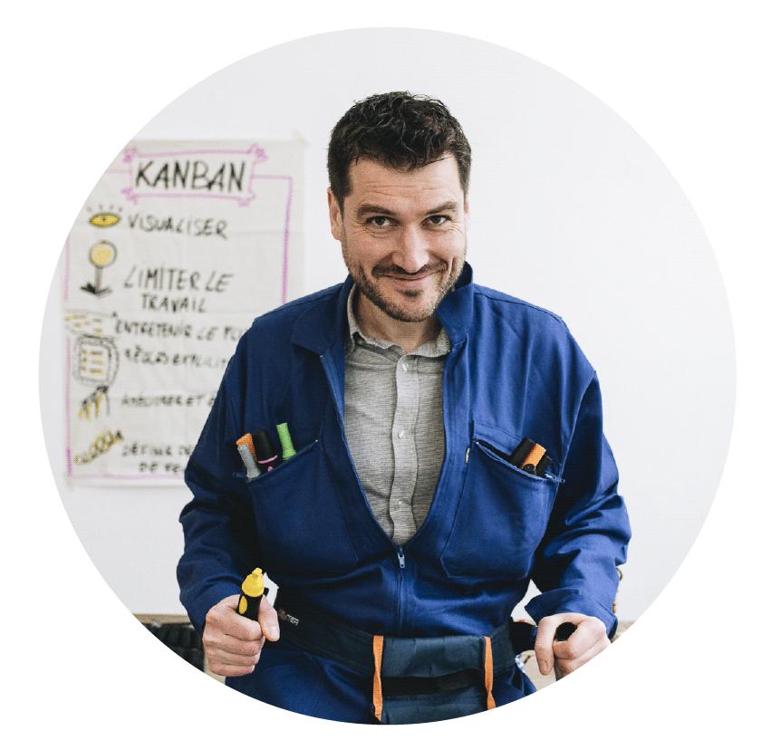 Romain Couturier facilitateur graphique et coach agile