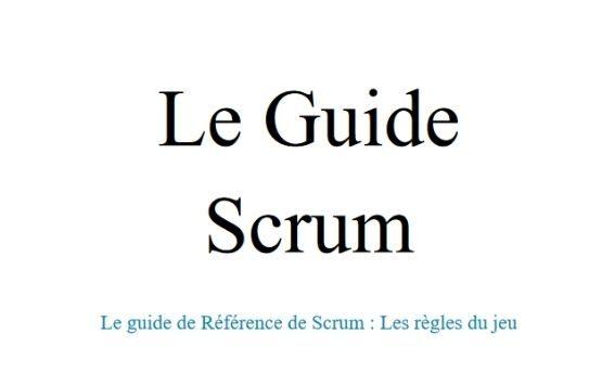 Scrum Guide nouveautés 2020