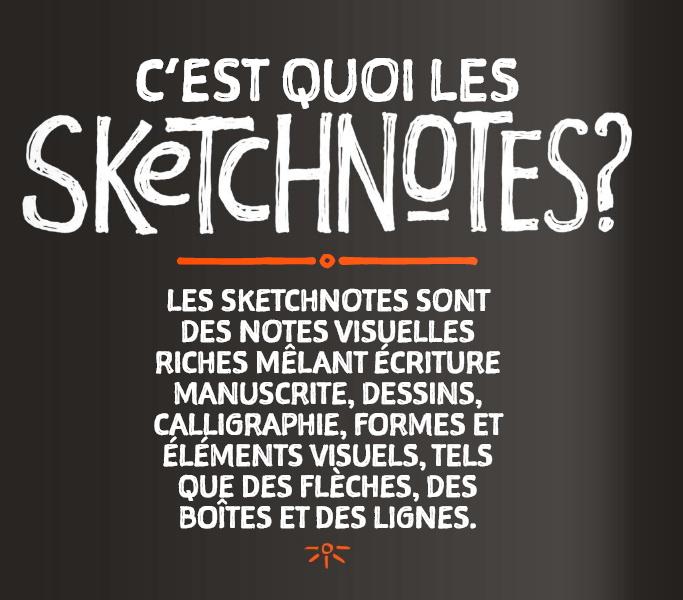 Qu'est ce qu'un sketchnote ?